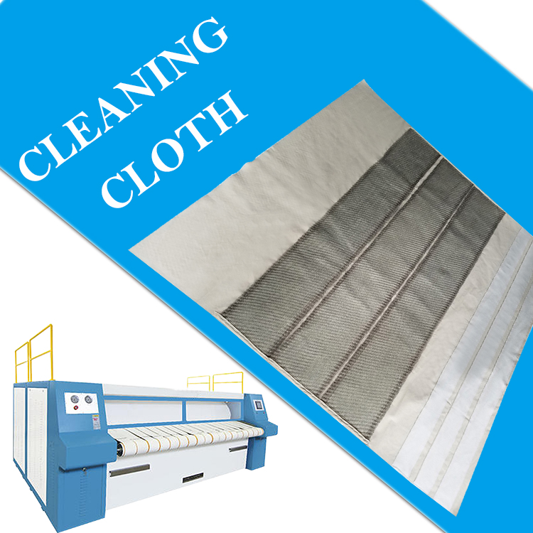 120 130 cleaning and polishing cleaning cloth and wax cloth used for flatwork ironer