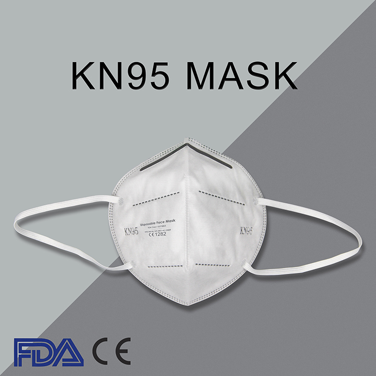 KN95 Disposable Face Mask Earloop with CE Certification