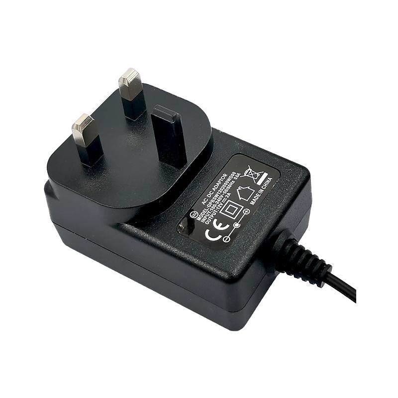 Universal 100240V AC DC EU UK US AU Plug 12V 2A Wall Power Adapter