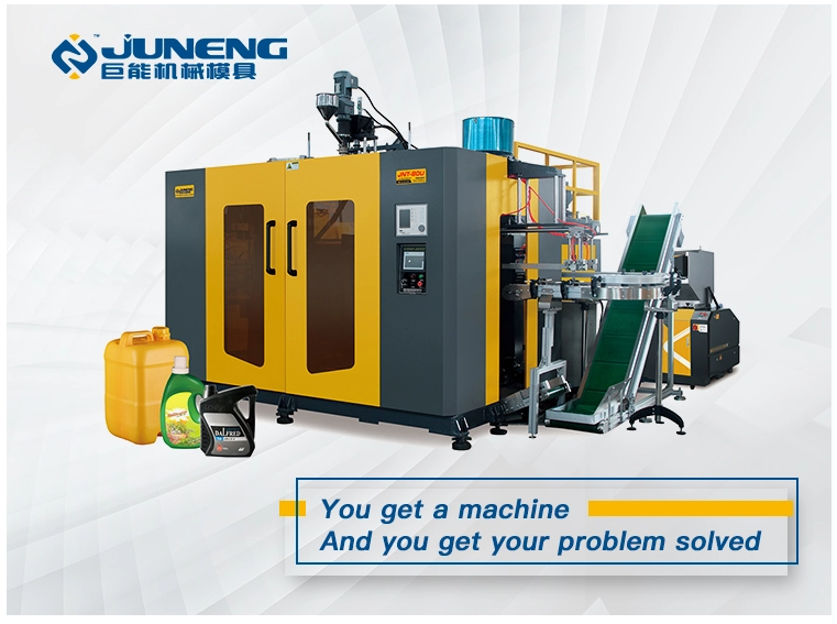 03L4 cavity extrusion blow molding machine double station for small bottles