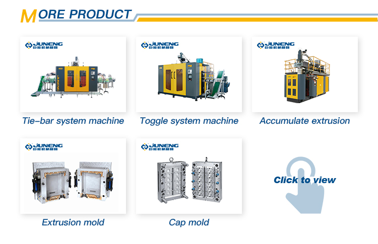 Plastic pallet making extrusion blow molding machine for tray