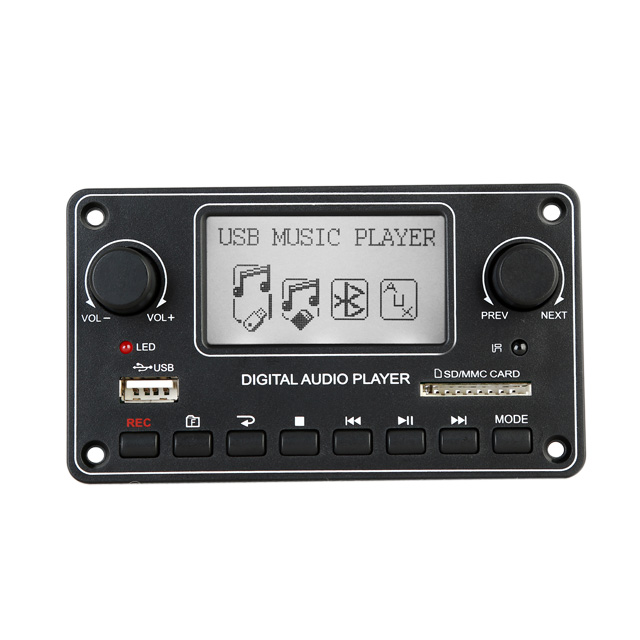 High Quality Digital Display MP3 Module Bluetooth USB SD MP3 Player Decoder Board Dot Matrix LCD