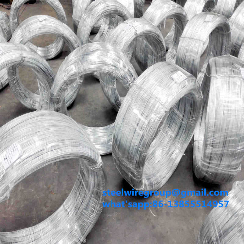Hot dipped Galvanized Steel Wire for ACSR conductorFarming and wire rope