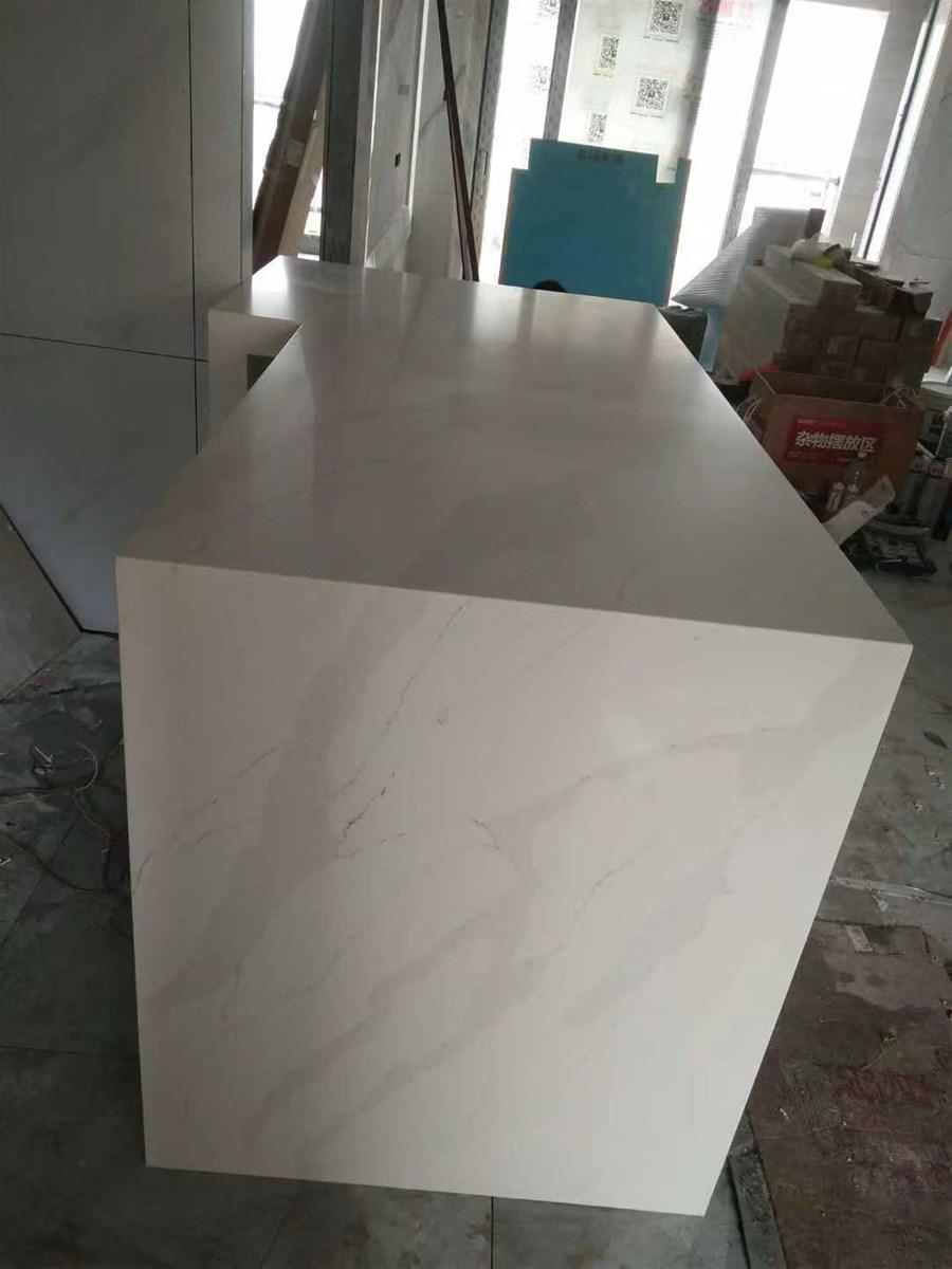 Foshan Weimeisi Decor White Marble Bathroom Wash Basin