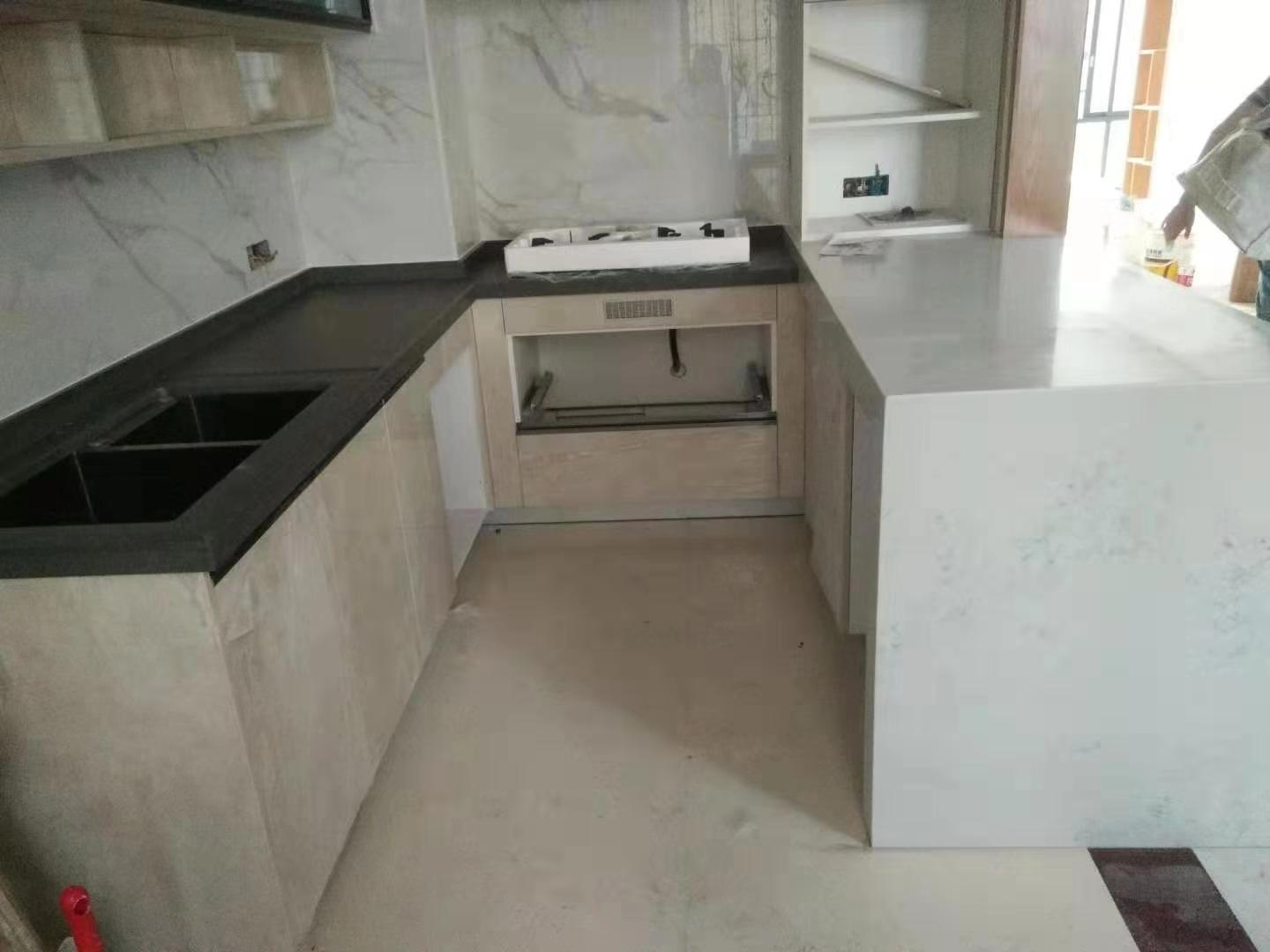 New Arrived Artificial White Marble CounterTop for Home Hotel