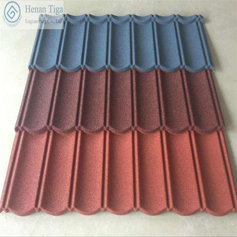 High Quality Low price Stone Coating Roofing Tiles Sand Coating Roofing Tiles