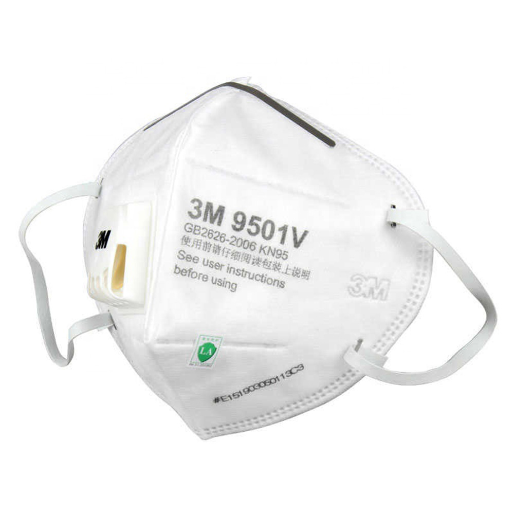 9501V KN95 Earloop with Valve Face Mask Respirator