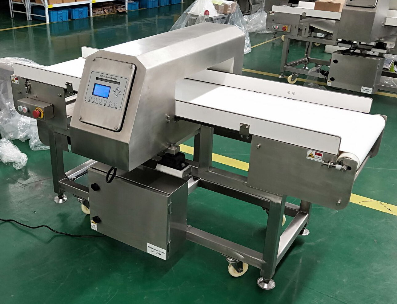 High sensitivity Industrial Metal Detector for Food Seafood Meat Vegetable Fruit Inspection