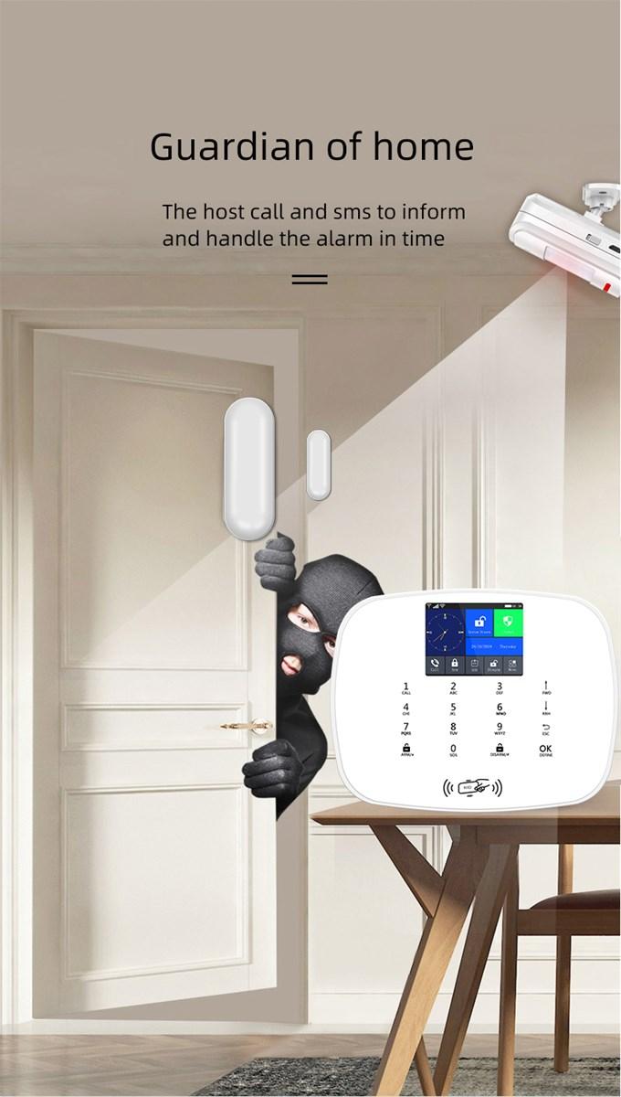WIFIGSM 3G Alarm System Support WIFI IP Camera 1080P Home Security Alarm System with Door sensor PIR Sensor