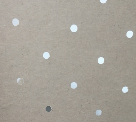Brown Perforated Kraft Paper For Apparel Automatic Cutting Machines
