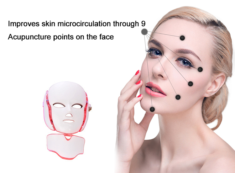 7 color LED photon mask therapy