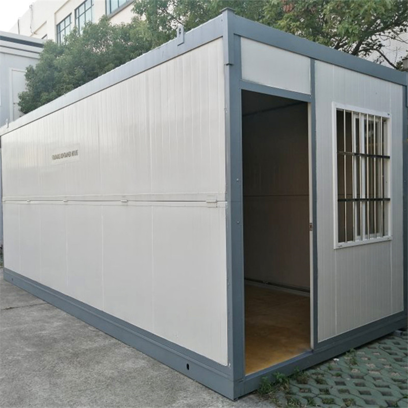 PU Real Estate Houses Luxury Prefabricated Packed Container Home