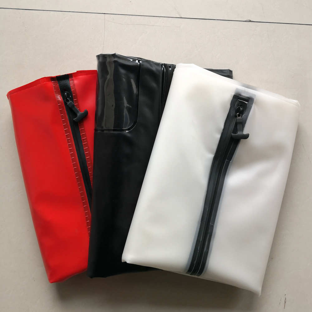 Airtight Waterproof Body Bag Heavy Duty PVC with HF Welding Zipper Funeral Mortuary Corpse Storage Bags for Dead Bodies