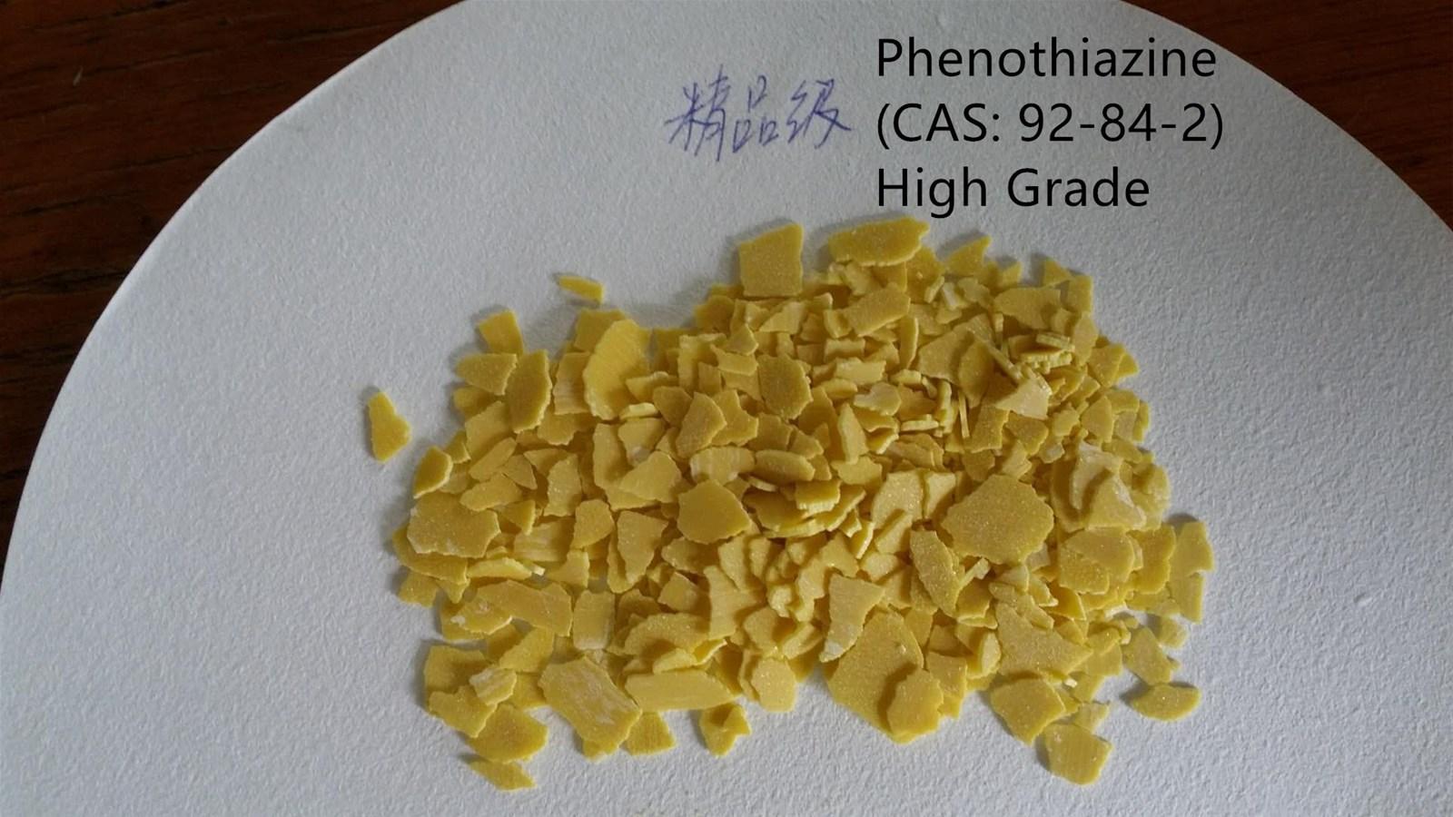 Phenothiazine CAS 92842 Raw Material for Crylic Acid