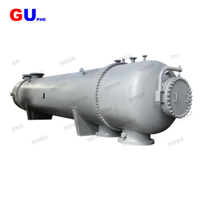 Shellandtube heat exchanger used in oild refining of heat transfer equipment
