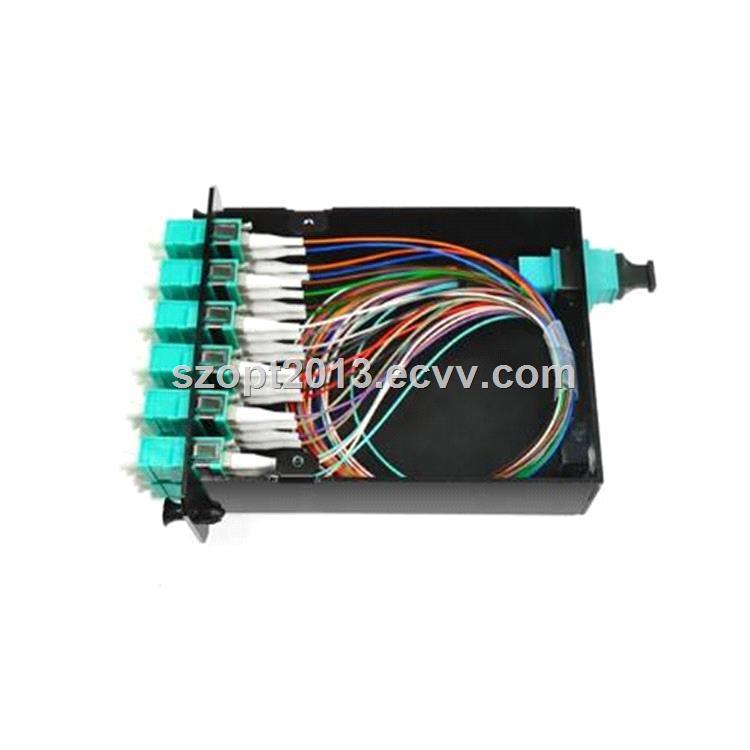 Fiber Optic Patch Box MPOLC Multimode OM3