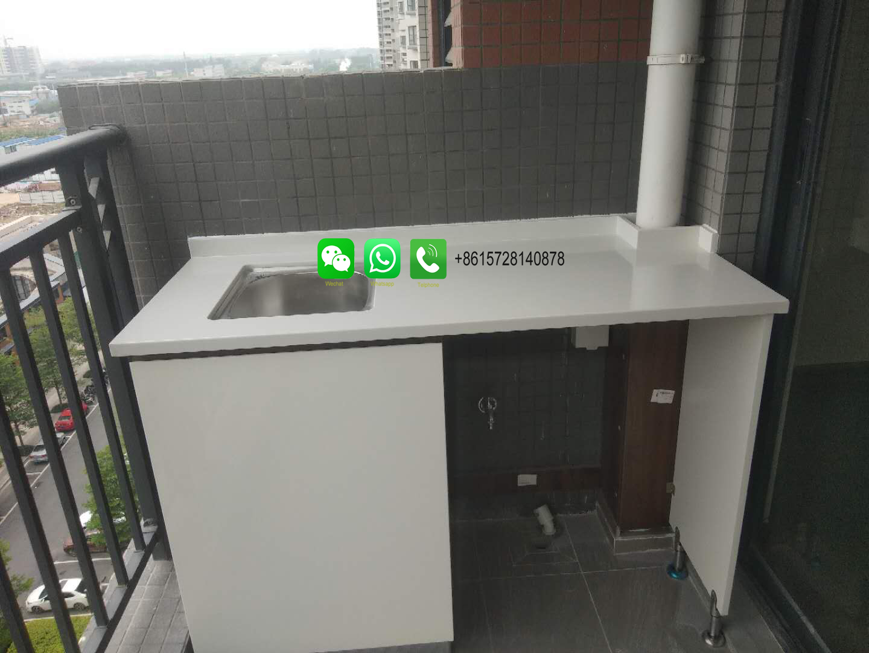 Foshan Weimeisi kitchen cabinet island tops peninsula countertop