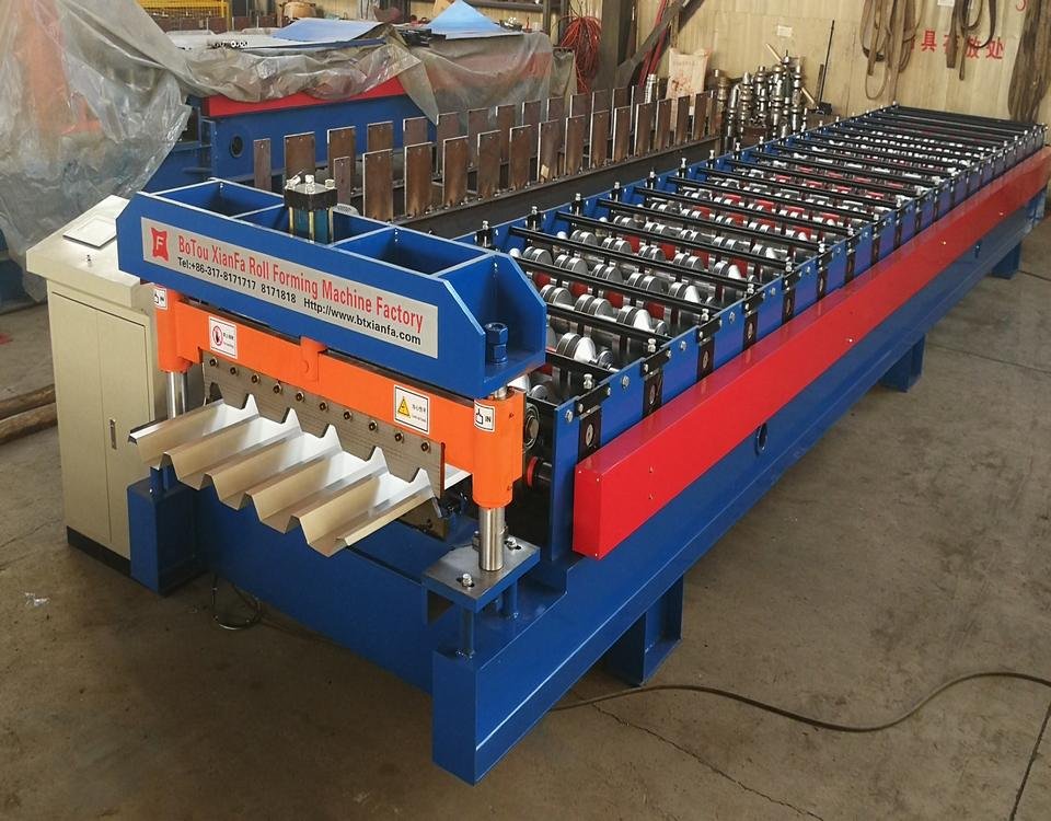 New IBR Metal Roof Sheet Roll Forming Machine