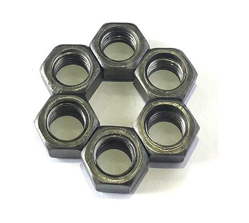 Carbon Steel Q235 Q195 C1088 Zinc Plated Plain HDG Hex Head Nut DIN934