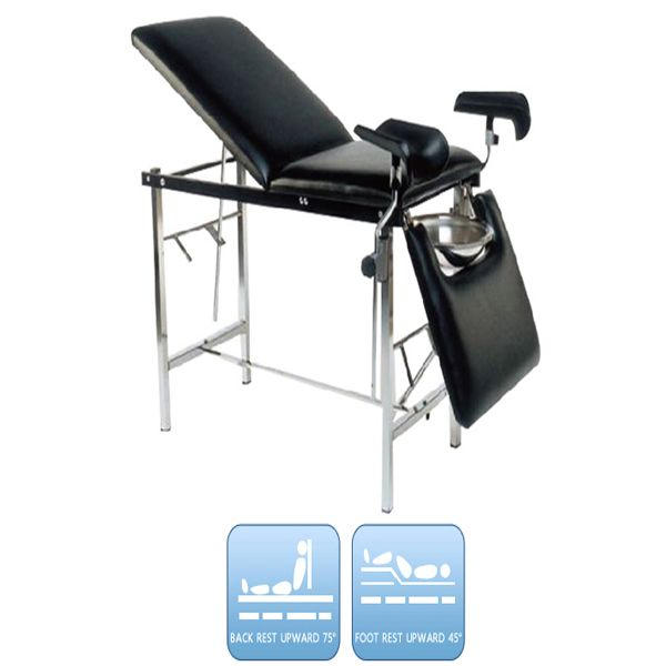 Medical Obstetric Table Hospital Delivery Bed Waterproof With Mattress