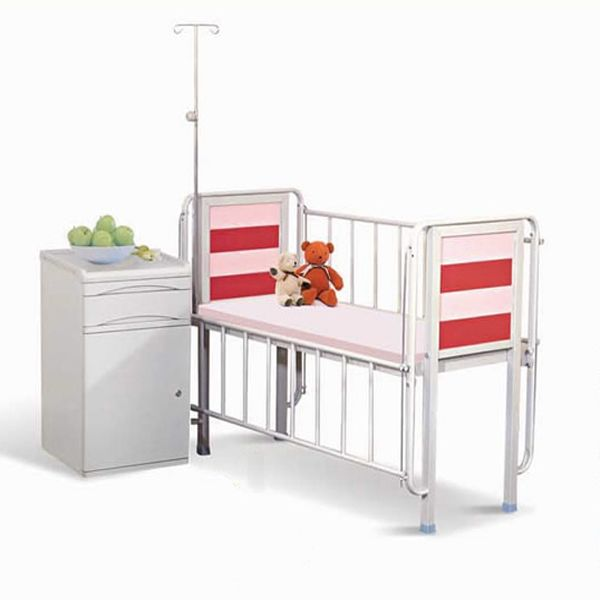 Nice Steady Hospital Baby Crib Common Multifunction Bed Powder Coated Steel
