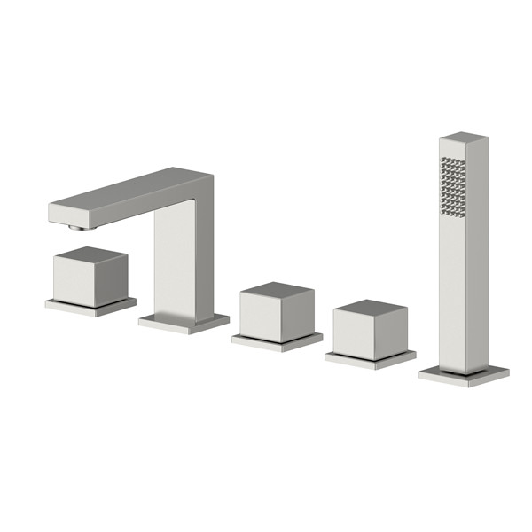 SS304 Stainless Steel Singe Handle Deck Mounted Bathtub Shower Faucet