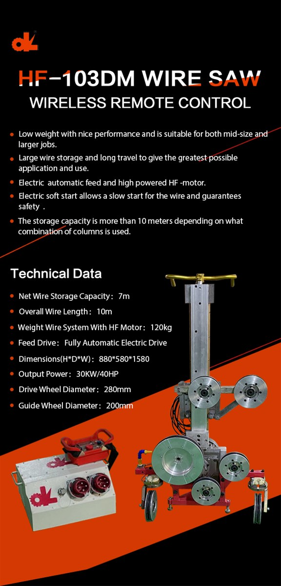 HF103DM High Frequency Wire Saw