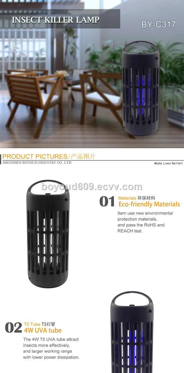 Hot Sale Indoor Mosquito Killer UV Bug Zapper High Power Insect Kill