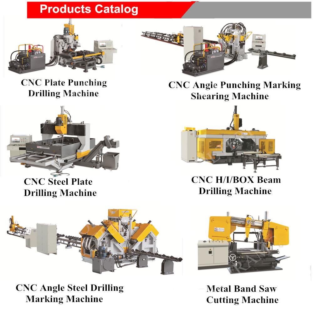 CNC H beam 3 spindle drilling machine