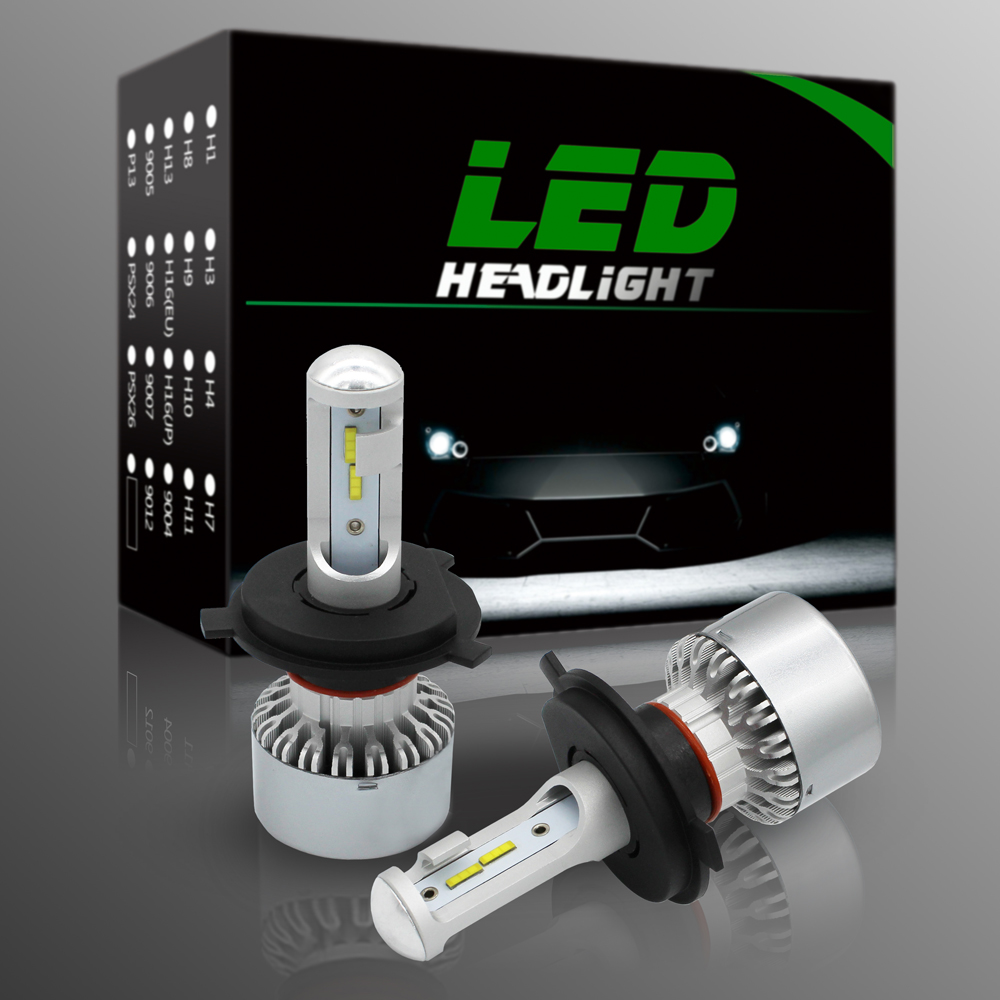 Super Bright High Quality CSP Chip 60W 8000LM H4 Led Headlight