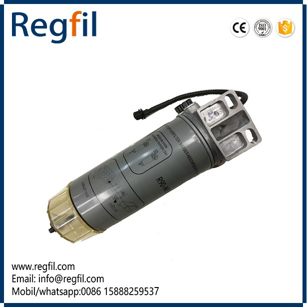 Factory Manufacturing Hot Sale Fuel Water Separator R90MER01 With heating