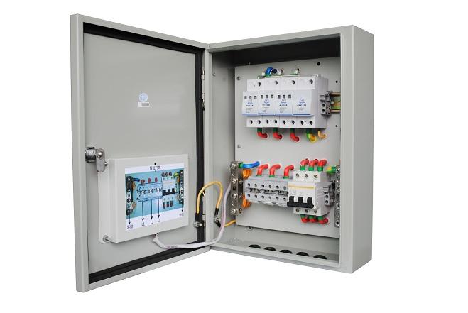 Techwin TVSS 100kA Class B surge protection deviceSPDfor Threephase 380V AC system