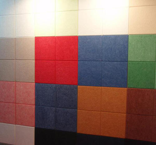 Diverse sound insulation materialsAcoustic panels