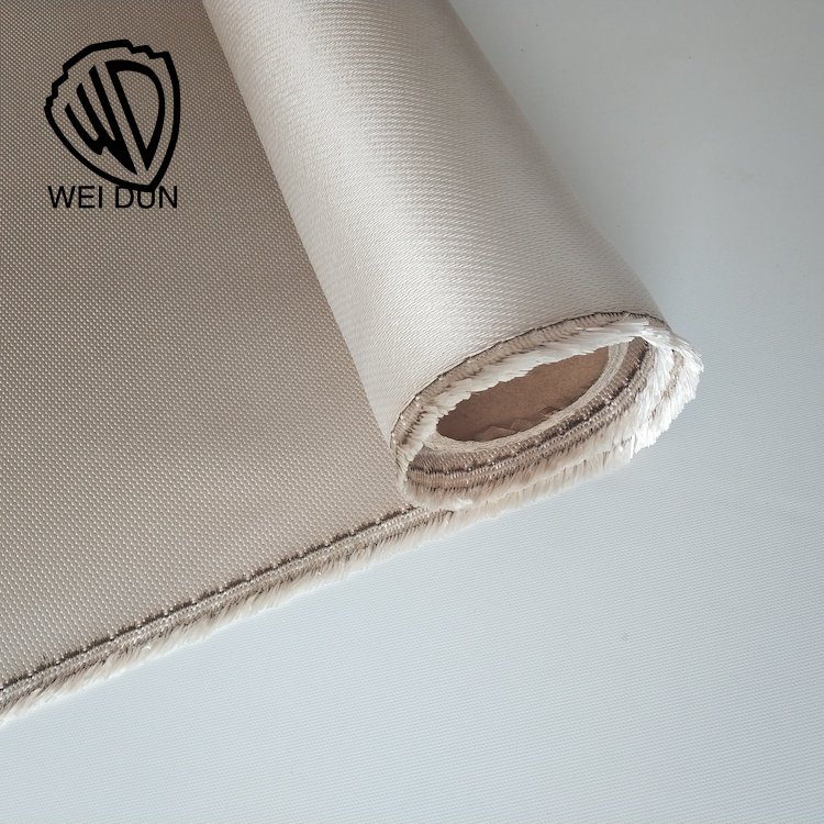 Good quality high temperature resistant high silica fiberglass cloth