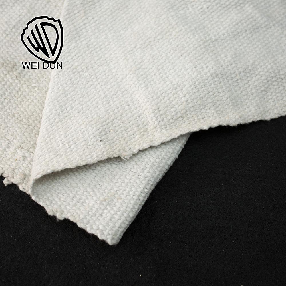 Thermal insulation ceramic coated fabric refractory ceramic fiber cloth blanket
