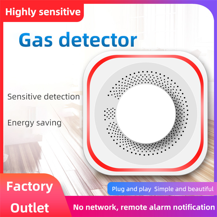2020 hot sale 433mhz wireless gas leakage detector sensor for home