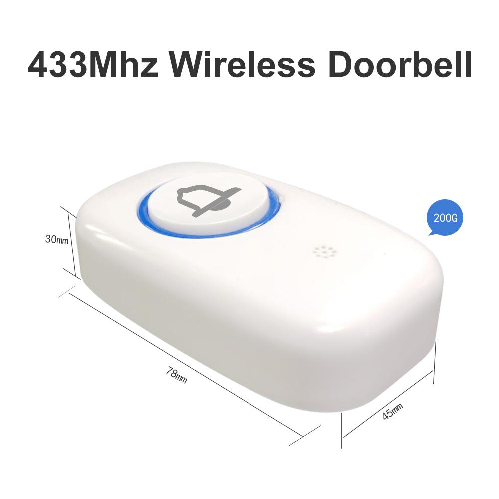 315433Mhz wireless SOS call button wireless doorbell button antitheft alarm accessories