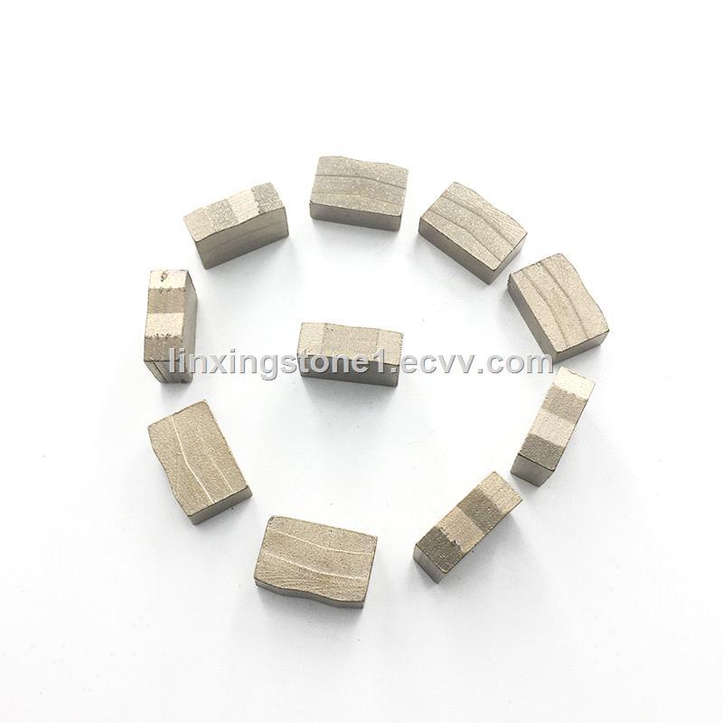 Factory OEM Diamond Grinding Segments Mine Cutting Tools For Big Saw Blade