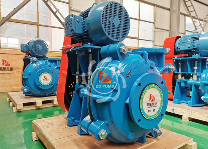 horizontal centrifugal heavy duty slurry mining pump mining