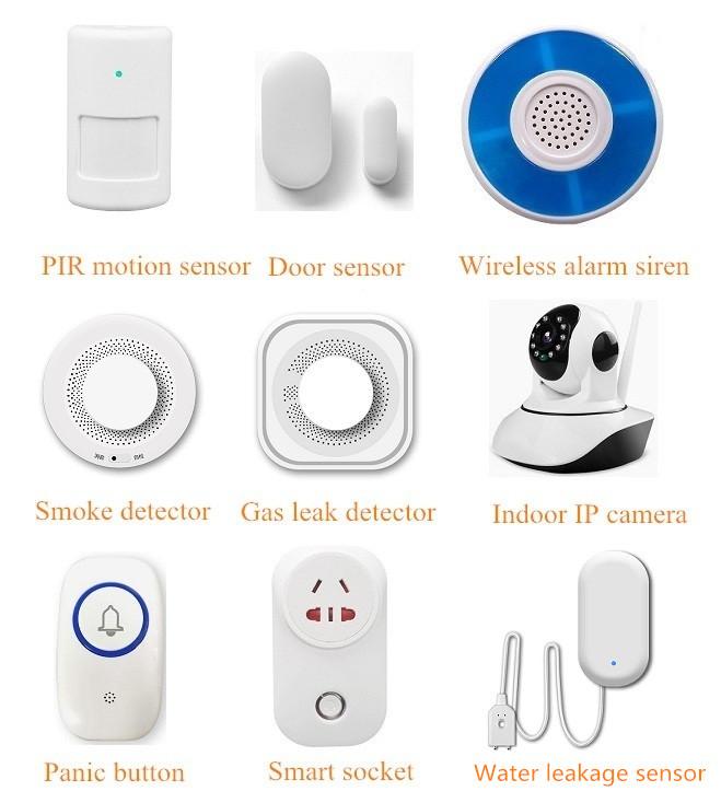 High sensitivity 433mhz wireless smoke detector sensor alarm