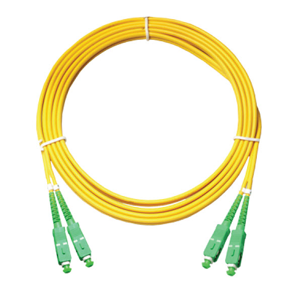 FTTH Jumper SCUPC to SCUPC SingleMode 1 Cord Fiber Optic Patch Cord