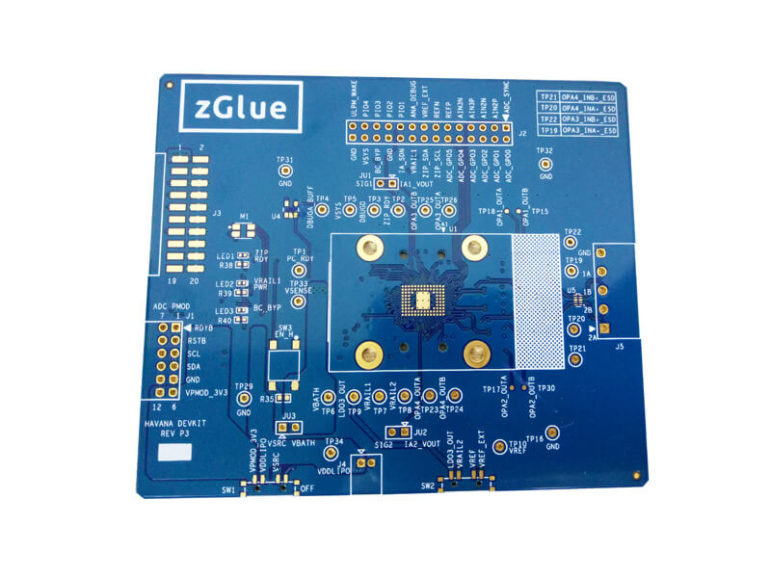 Blue Solder Mask Printed Circuit Board