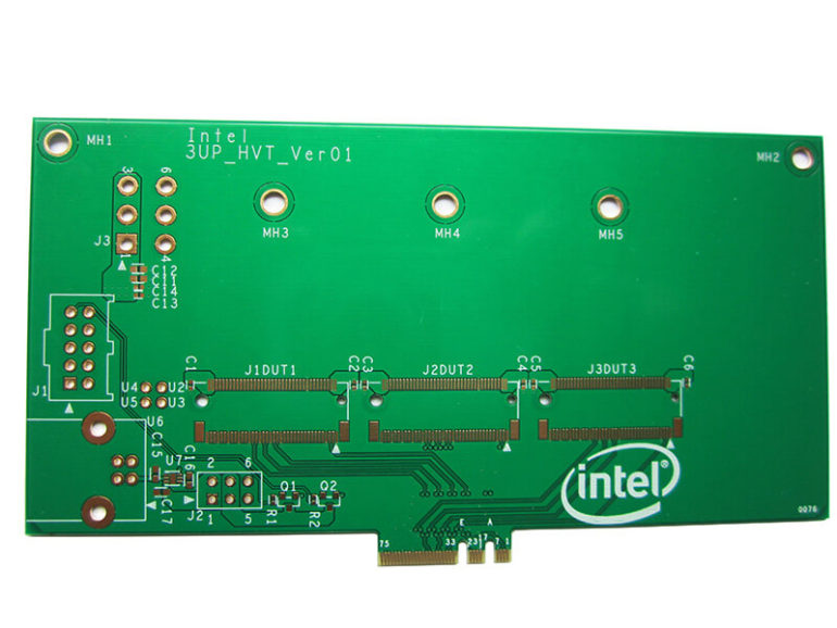 Hard gold finger Printed Circuit Board