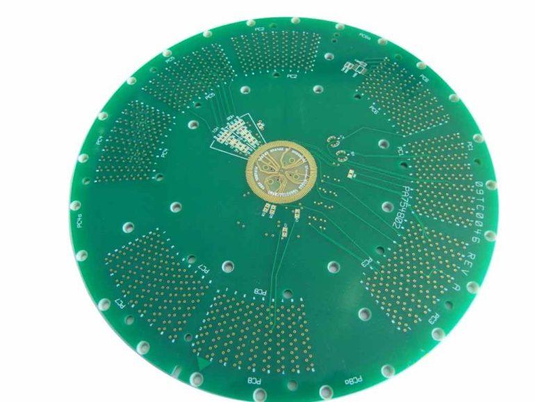 Hard Gold Plating Printed Circuit Board