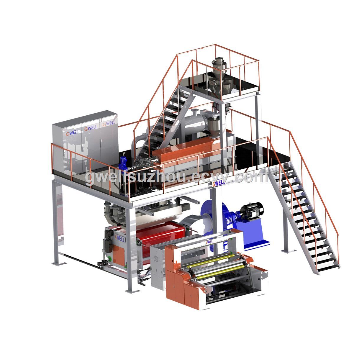 Propylene Melt Blown Non Woven Making Machine