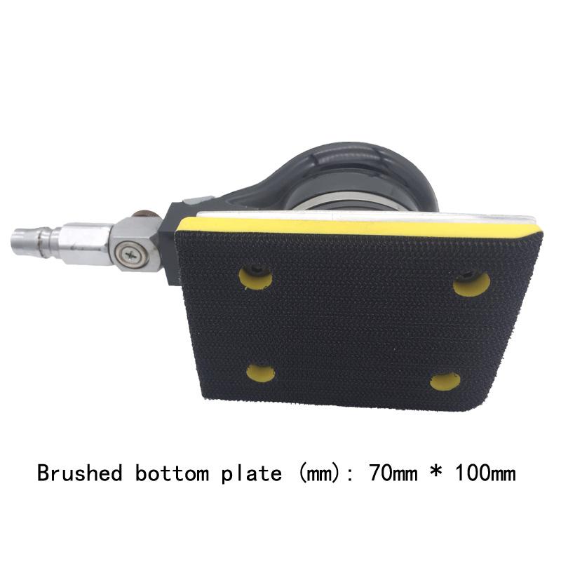 Square pneumatic grinding machine polishing machine 70100 square pad pneumatic sandpaper tools