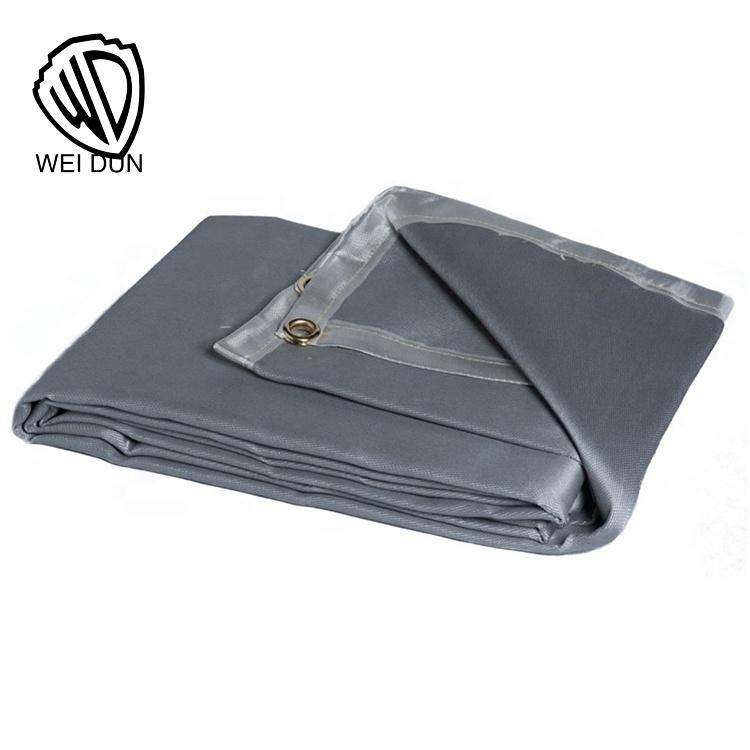 Excellent quality eglass security fire retardant welding blanket