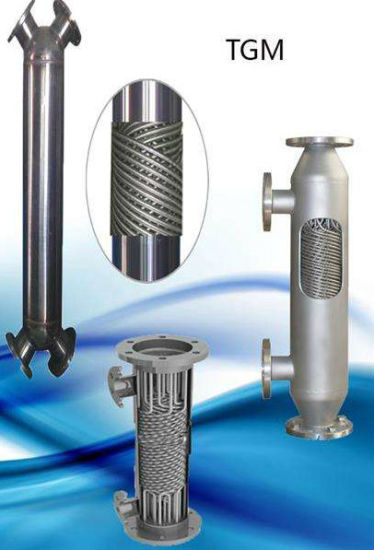ASTM Standard followed Stainless steel shell and tube heat exchanger