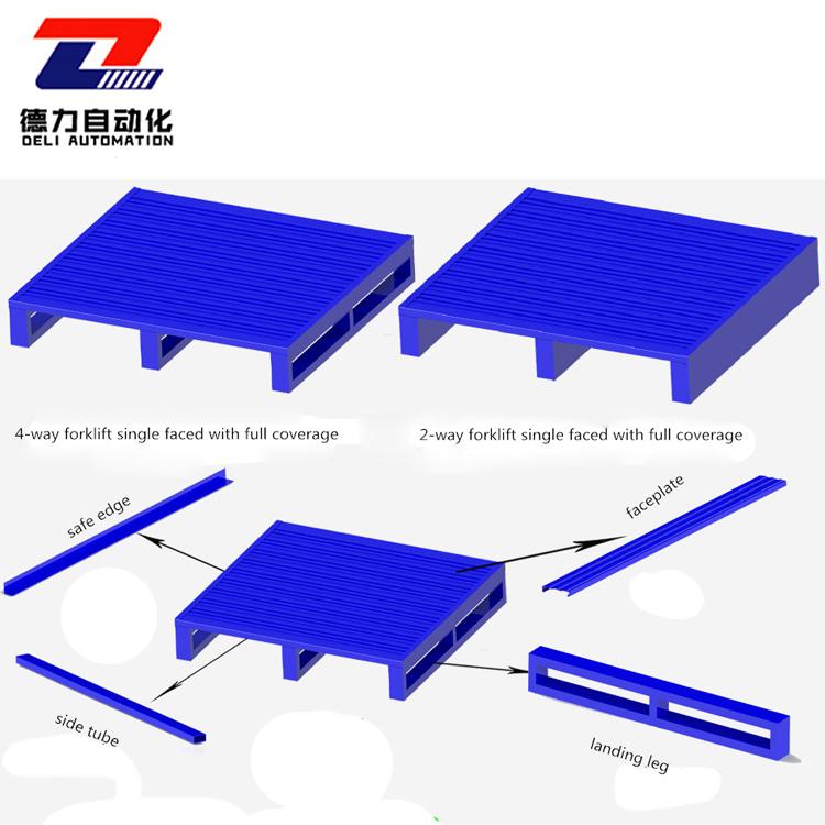 galvanized steel pallet high loading weight capacity steel pallet manufacturer