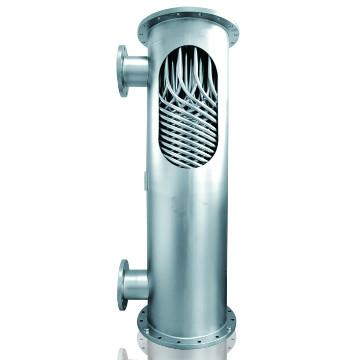 ASTM Standard Stainless steel shell and tube heat exchanger for chemistry